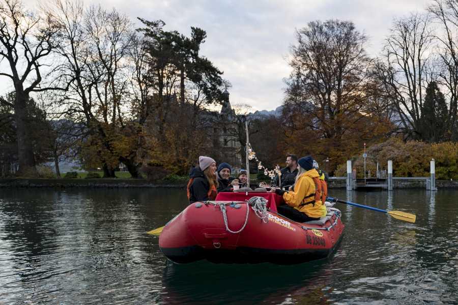 Outdoor Interlaken AG Raclette Rafting auf dem Thunersee