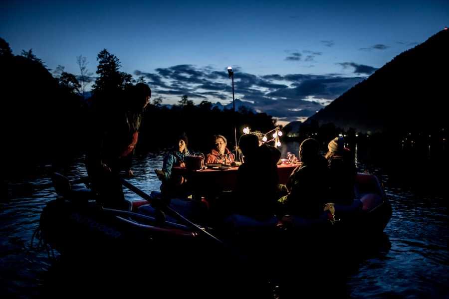 Outdoor Interlaken AG Raclette Rafting on Lake Thun