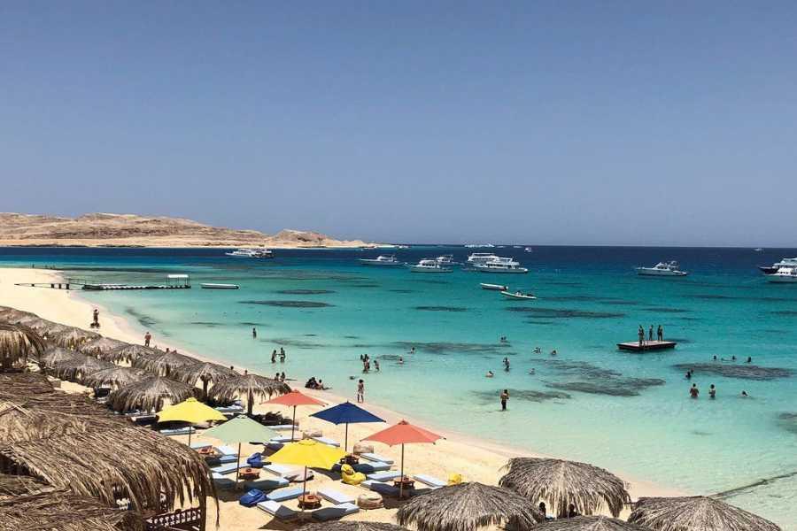 El Gouna Tours Mahmya Island Snorkeling trip from Hurghada