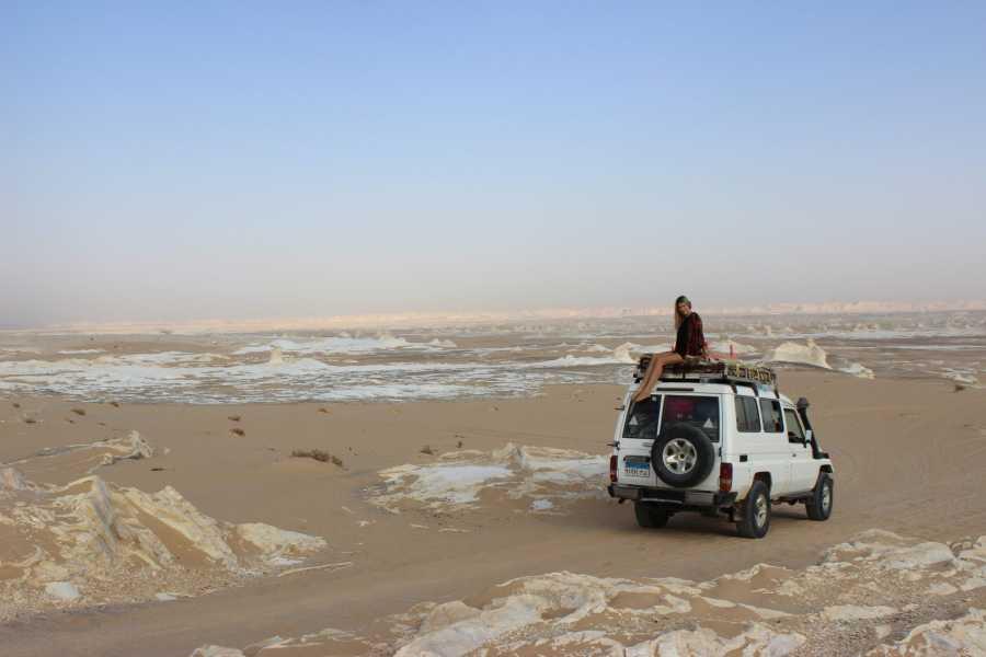 El Gouna Tours Two Days Excursion White Desert and Bahariya Oasis  From Hurghada