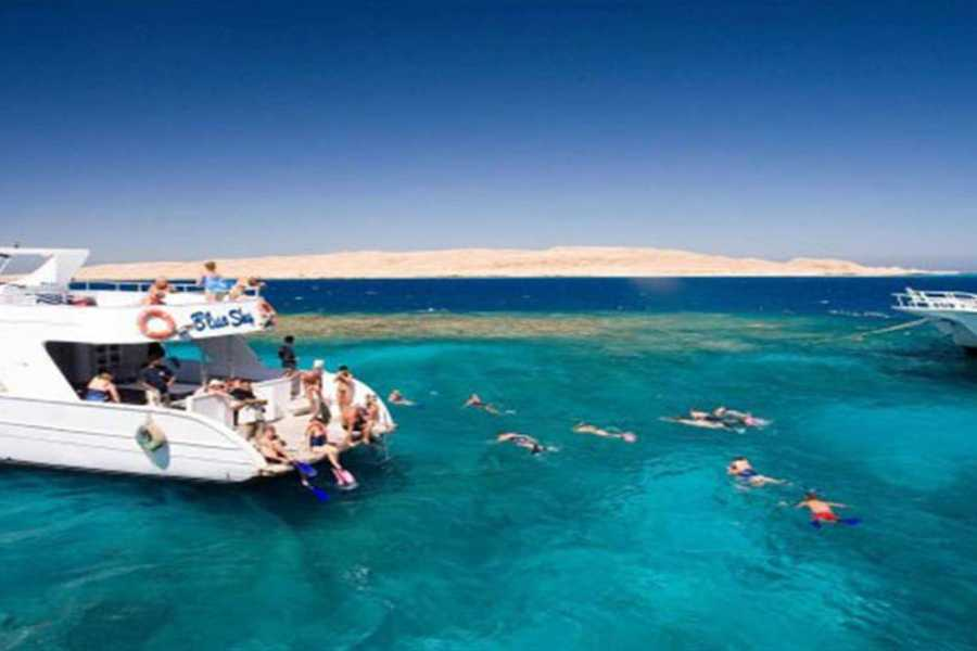 El Gouna Tours Tiran Island Snorkeling Boat Excursion From Sharm el Sheikh