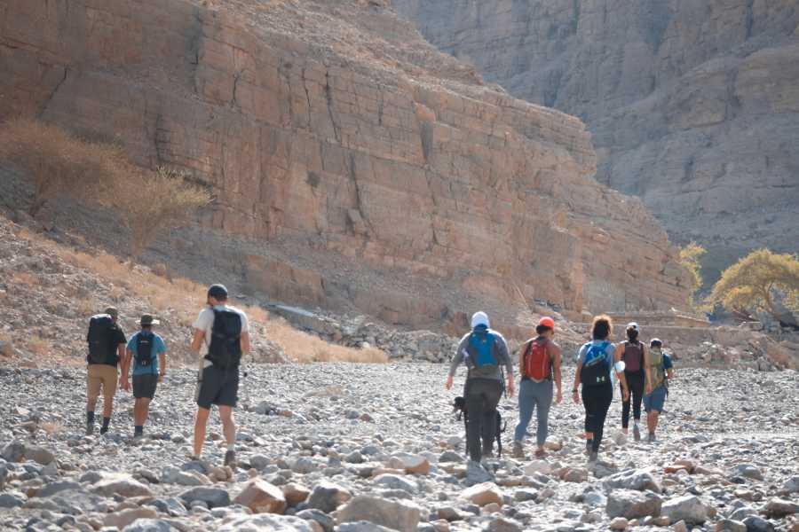 Adventurati Outdoor White Wadi Hike - 9 Jan