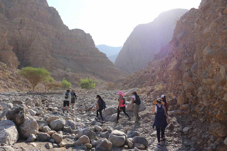 Adventurati Outdoor White Wadi Hike & Boulder Hopping