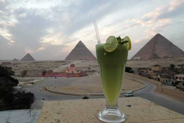 1 Hour ATV at Giza Pyramids with breakfast in a restaurant in front of the pyramids