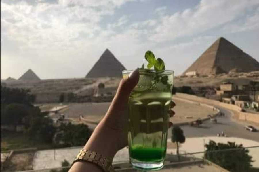 EMO TOURS EGYPT 1 Hour ATV at Giza Pyramids with breakfast in a restaurant in front of the pyramids
