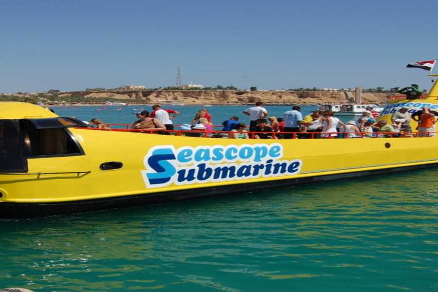 El Gouna Tours sindbad submarine adventure from El Gouna