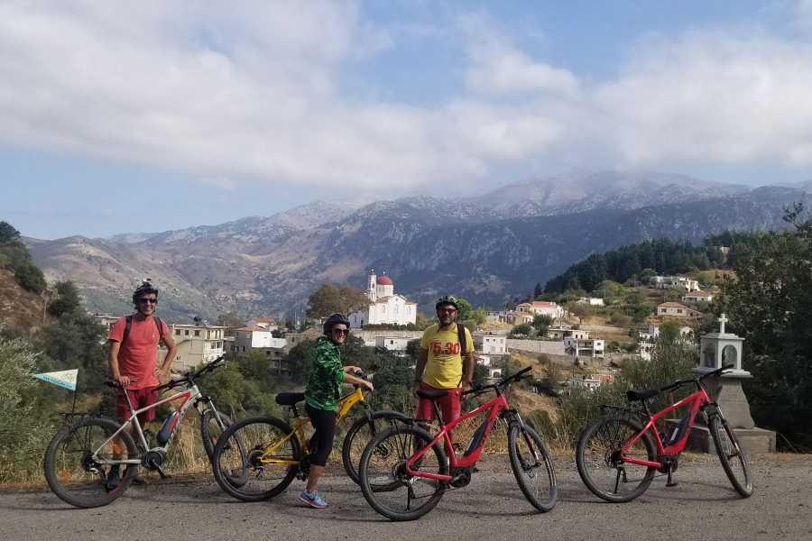 Destination Platanias E - bike Tour: Traditional Villages of Kissamos
