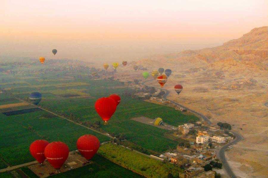 El Gouna Tours Luxor Hot Air Balloon from Luxor