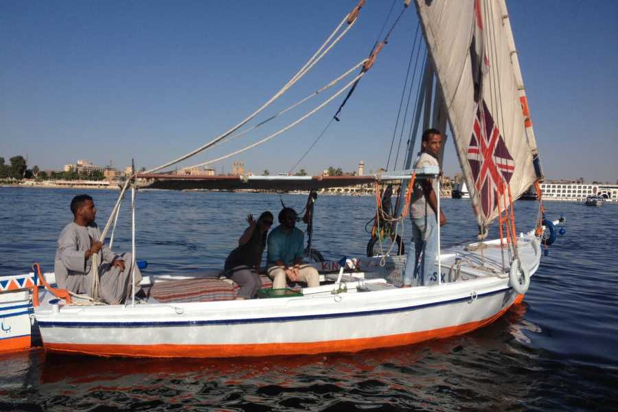 El Gouna Tours Sunset Sailing Trip with Flucca In Luxor