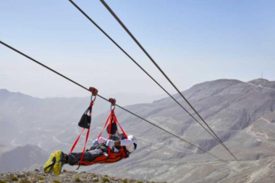 Adventurati Outdoor World's longest Zipline -  Ras Al Khaimah
