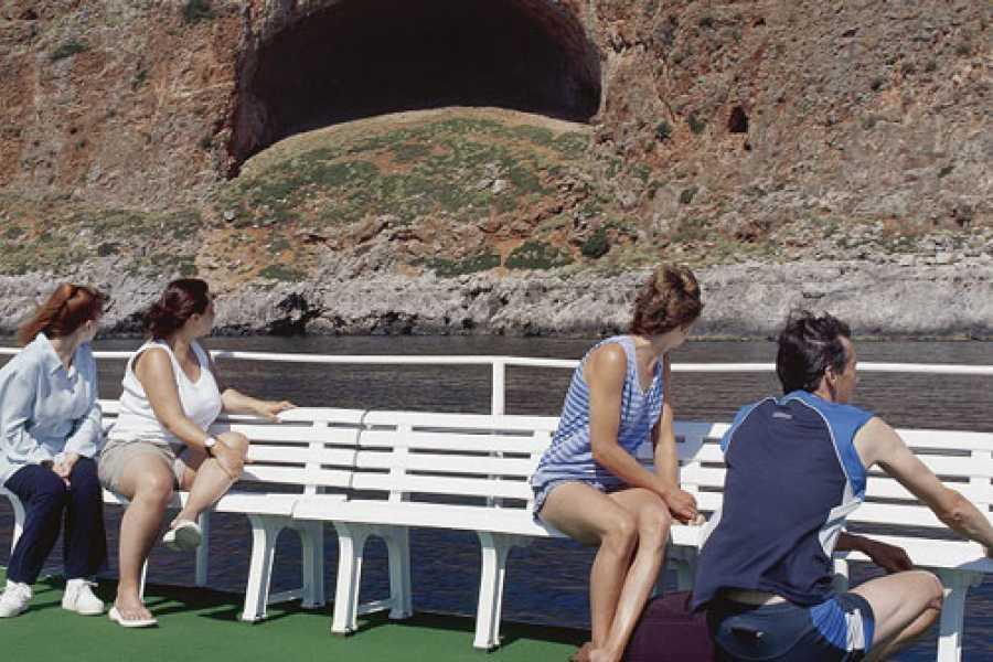 Destination Platanias Boat Ticket To The Exotic Balos Beach 25 EUR