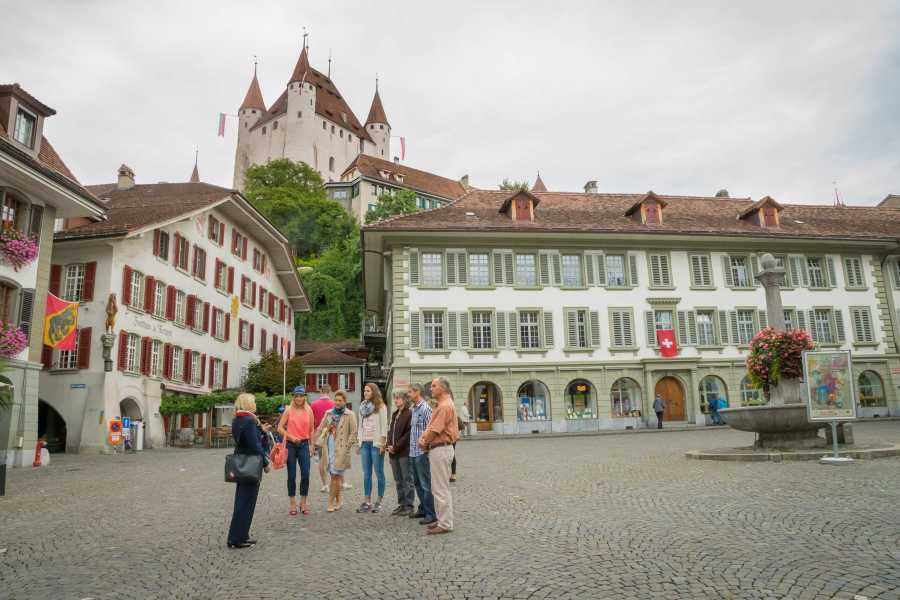 Thun-Thunersee Tourismus Altstadtführung Thun