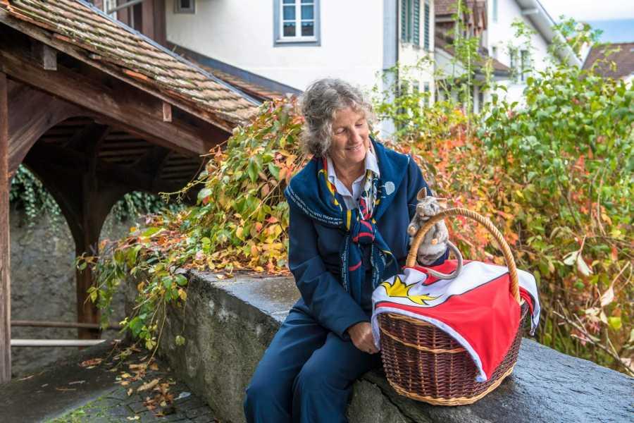 Thun-Thunersee Tourismus Kinderführung «Unterwägs mit em Thuner Gschichte-Chorb»