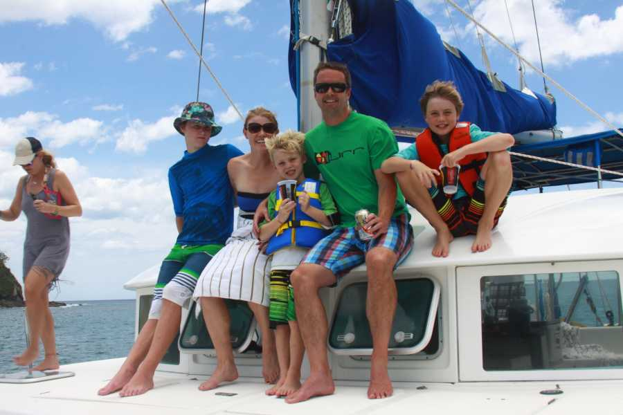 Tour Guanacaste Lazy Lizard Catamaran Tour
