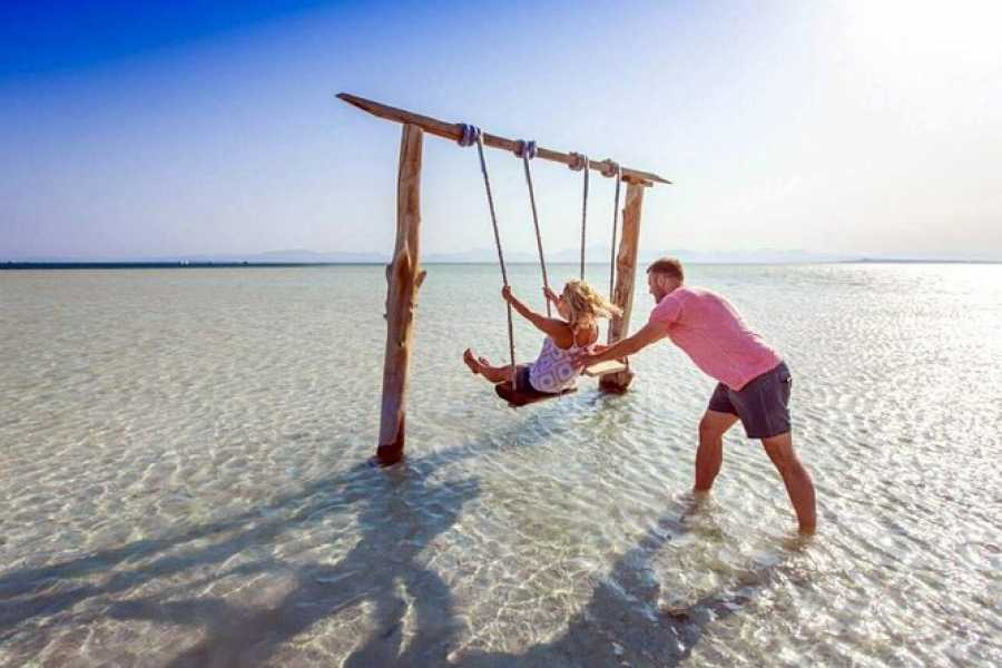 Daily tours Egypt Orange Bay Snorkeling on the Caribbean beach from El Gouna
