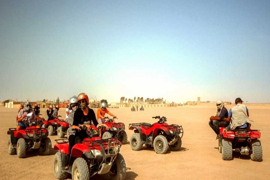 Daily tours Egypt Morning desert Safari By Quad Bike Trip From El Gouna