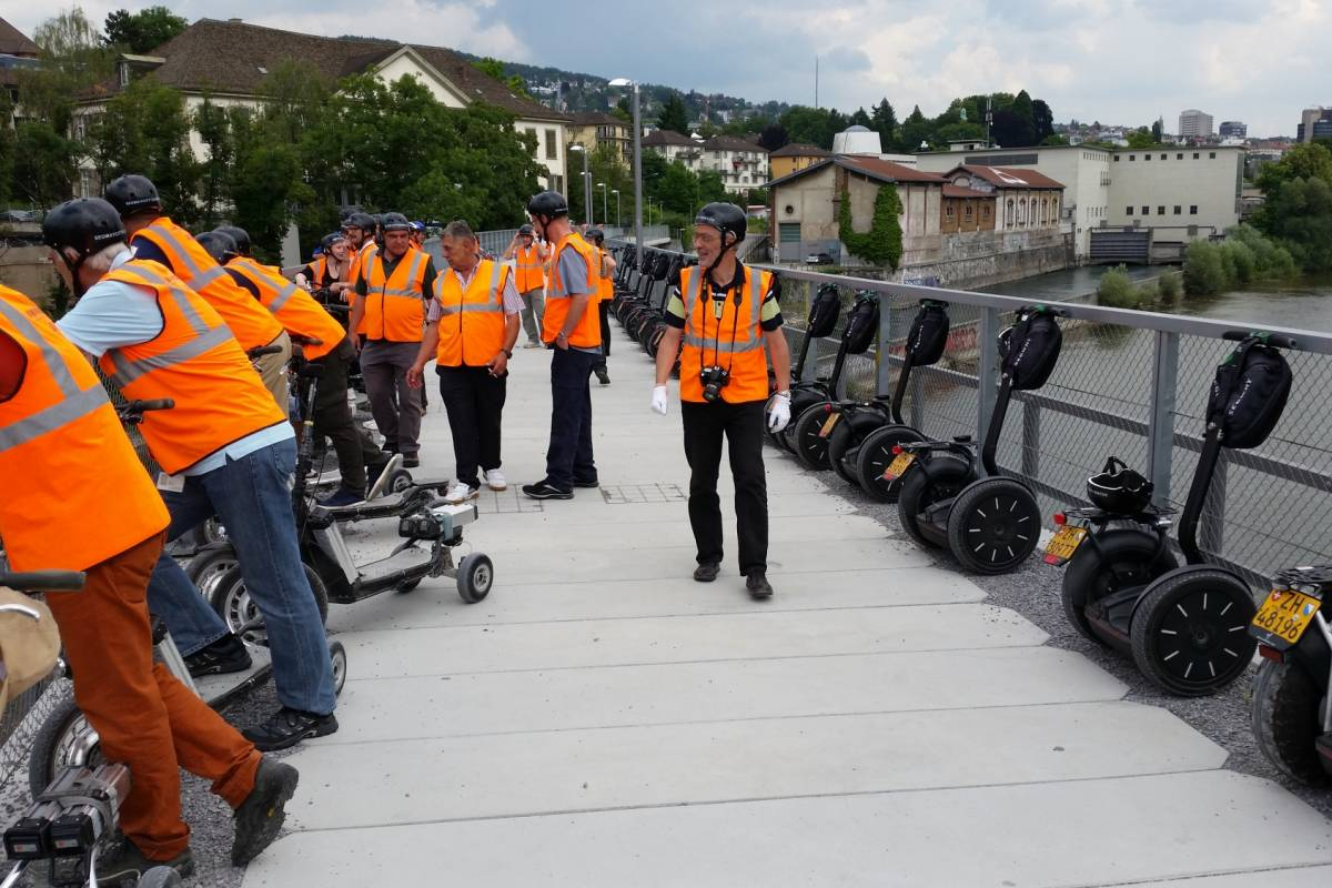 Segway City Tours Segway Tour Zurich West