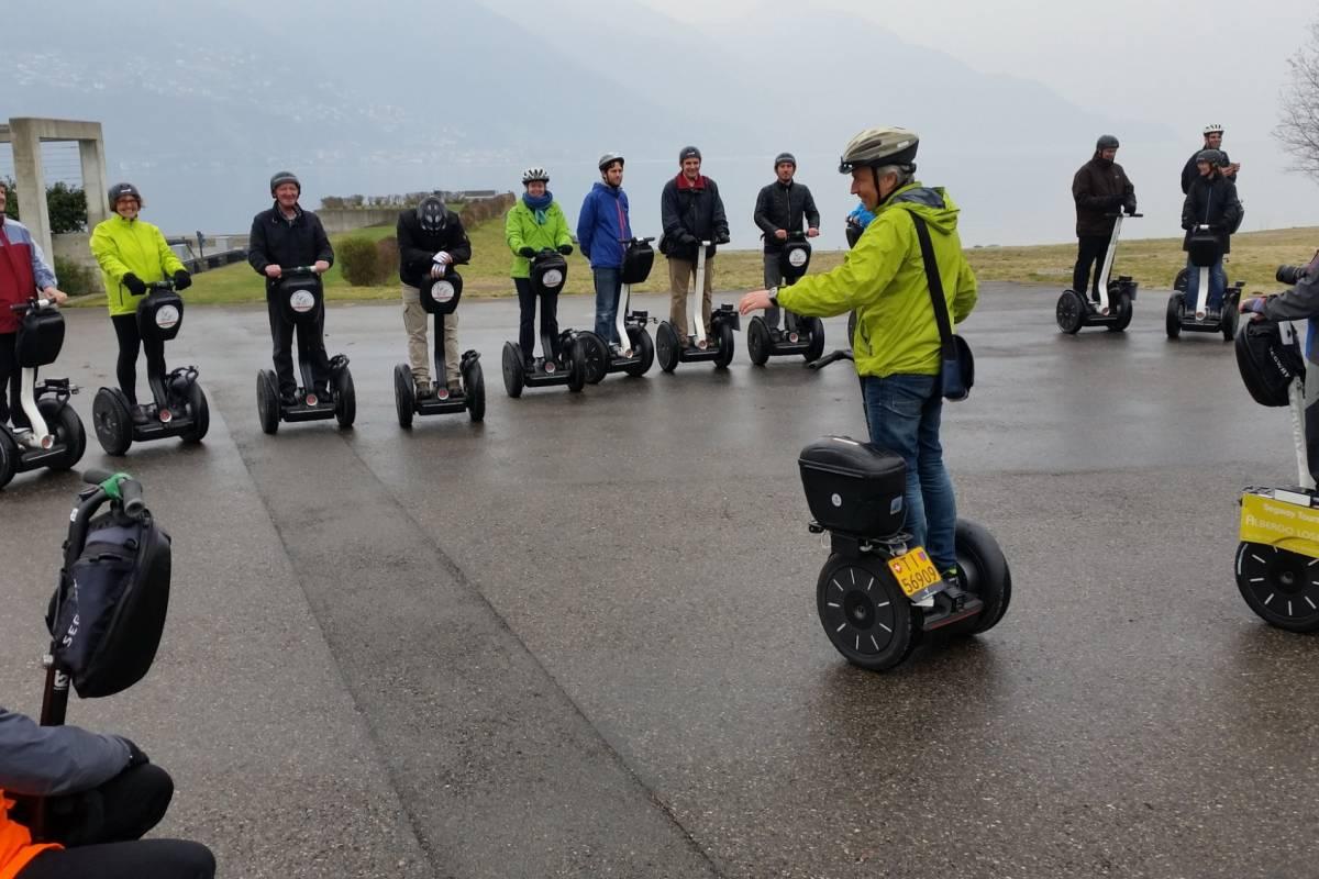 Segway City Tours Segway Tour Ticino - Ascona, Locarno