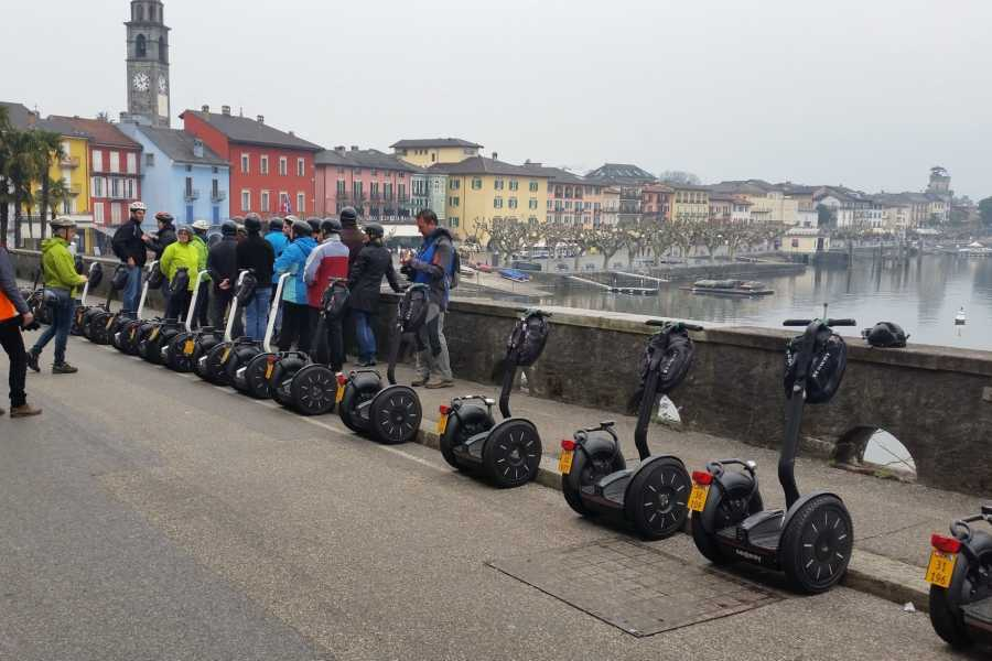 Segway City Tours by HB-Adventure Segway Tour Ticino - Ascona, Locarno