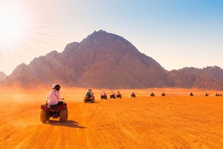 Daily tours Egypt Sunrise Safari trip from Sahl Hasheesh by Quad Biking