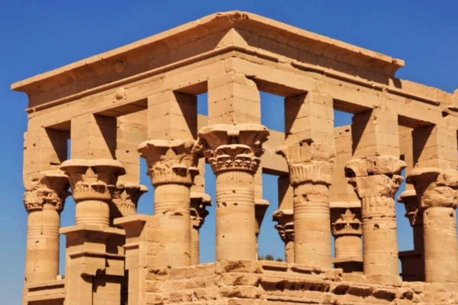 EMO TOURS EGYPT Day Tour to Nubian Museum and Temple of Isis in Aswan with delicious Egyptian Karkade