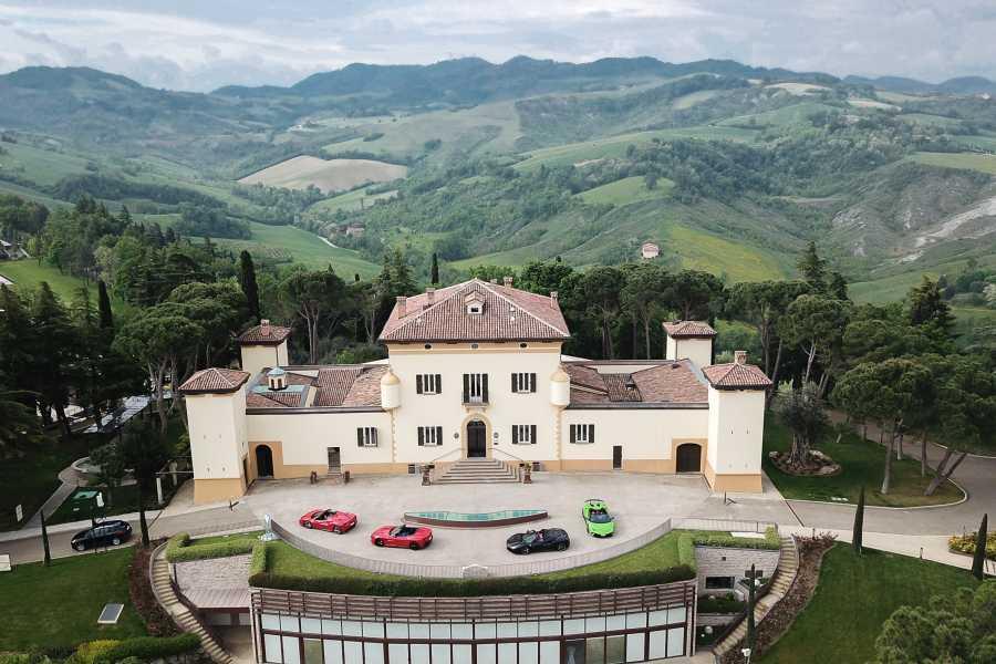 IF Imola Faenza Spaziergang durch die Olivenhaine, Olivenöl-Verkostung und Mittagessen im Palazzo di Varignana