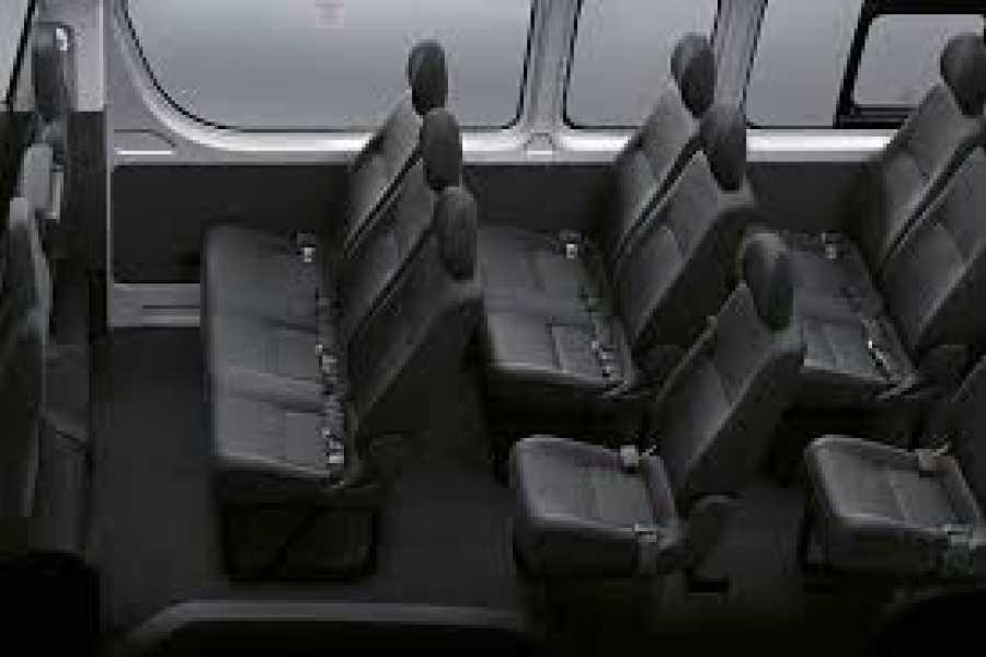 Tour Guanacaste Toyota Hiace 16 Seat Adobe Van Rental