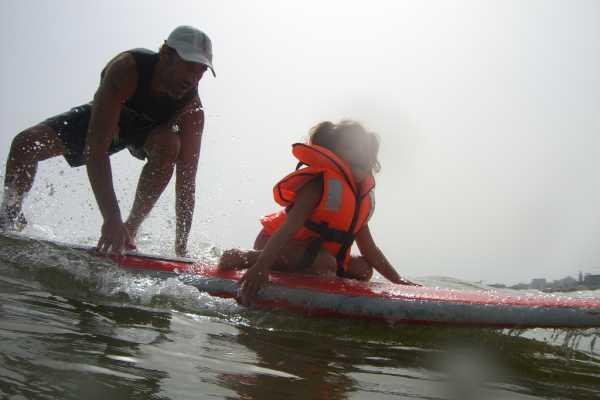 A scuola di Surf Sup Windsurf