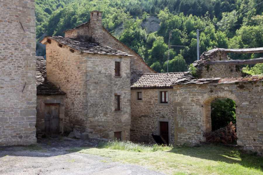 VisitRimini Deux Gibelins à Casteldelci : Dante et Uguccione Della Faggiola