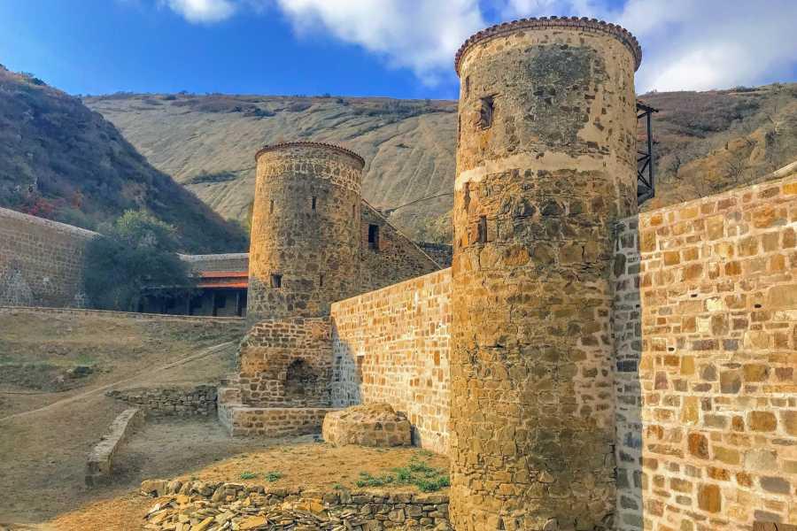 Friendly.ge Off-road tour to David Gareja Monastery and Rainbow Mountains