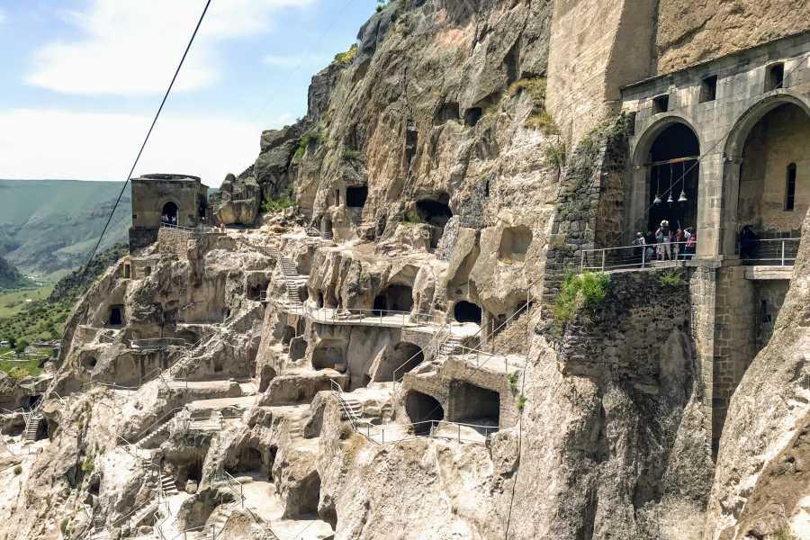 Friendly.ge From Tbilisi: Vardzia, Rabati, and Borjomi Private Tour