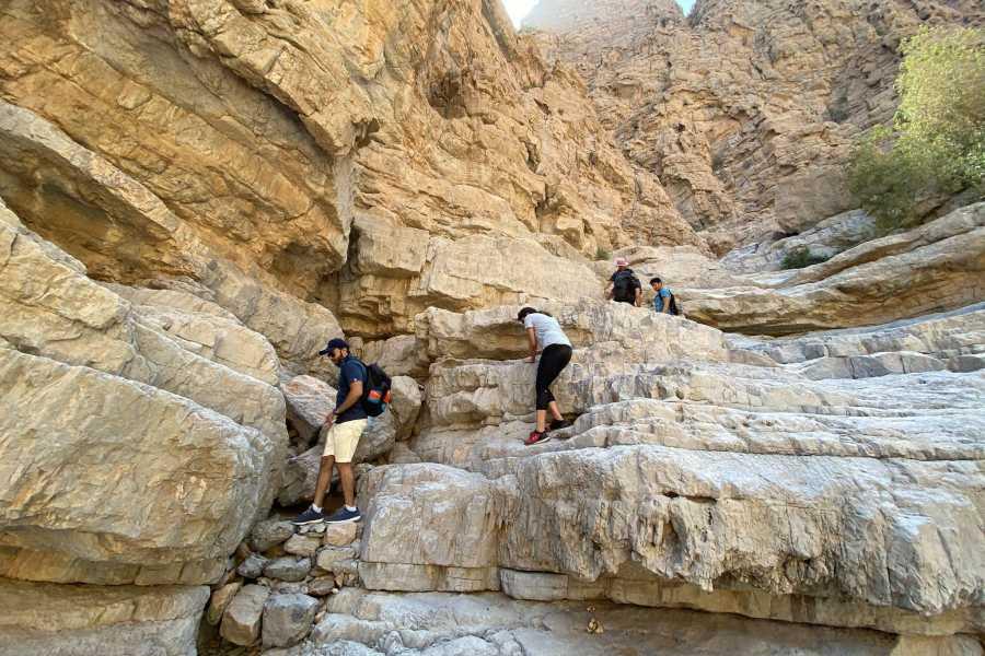 Adventurati Outdoor White Wadi Hike & Boulder Hopping - Saturday 17 April