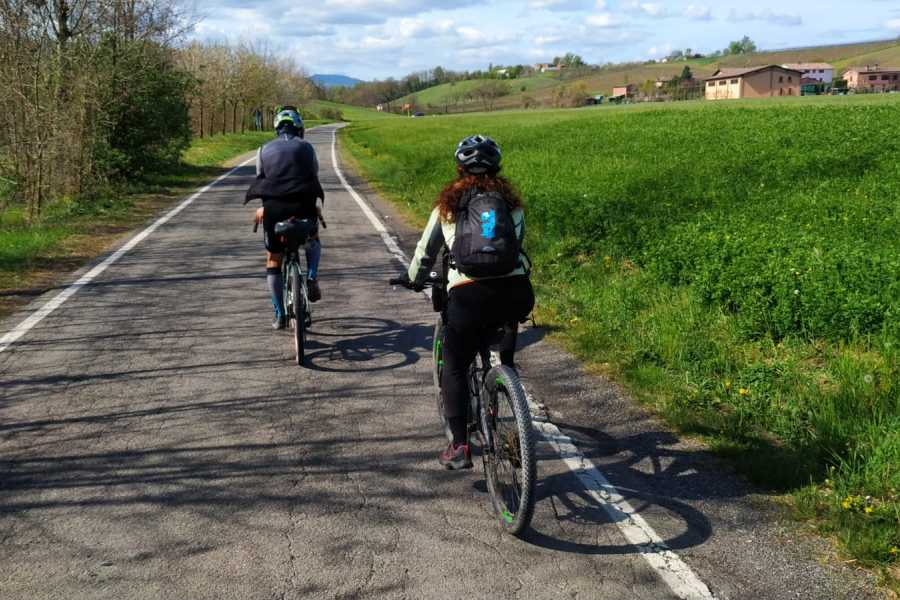 Modenatur Cycling from Modena to Castelvetro hills