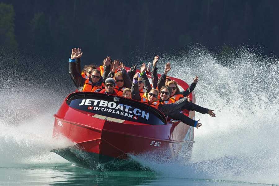 Outdoor Interlaken AG Scenic Jetboat Ride