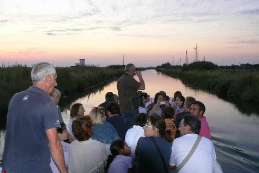 Cervia Turismo Saline de Cervia en bateau