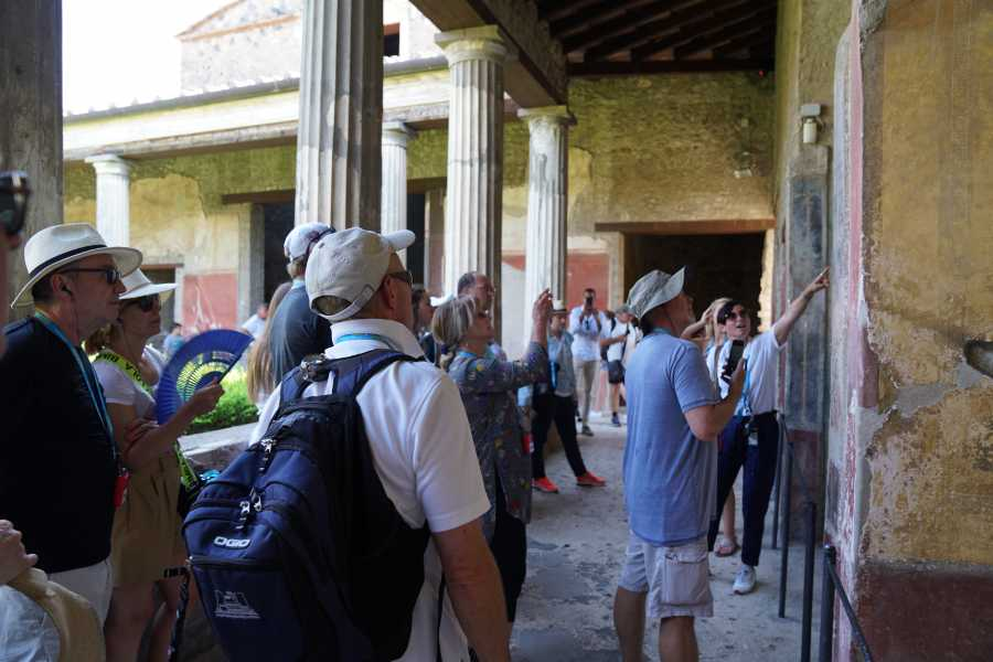 Travel etc Transfer from Naples to Sorrento or vv with guided tour in Pompeii