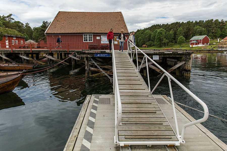Romsdalsmuseet Fiskerimuseet på Hjertøya med omvisning