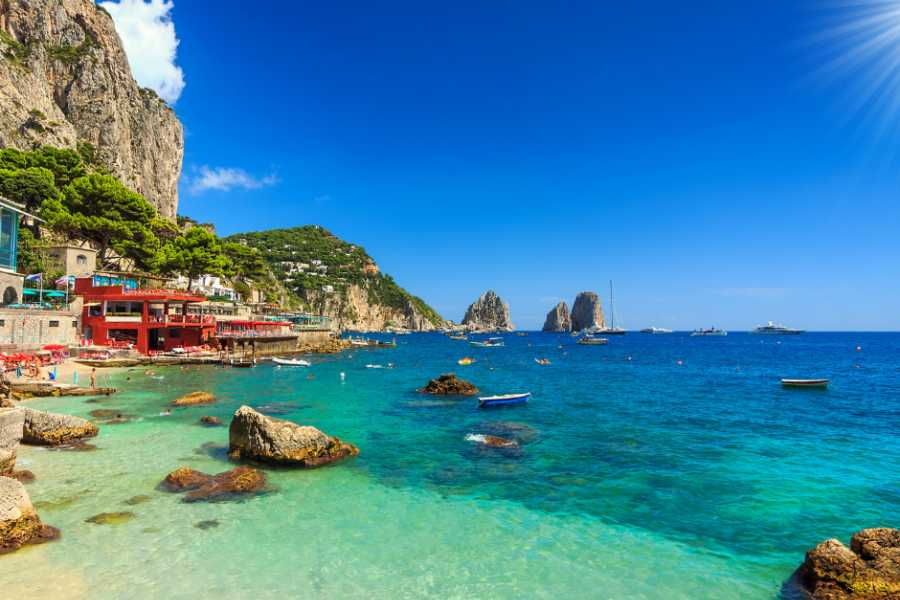 Italy on a Budget tours ITALY ISLAND SAILING:  ISCHIA, PROCIDA, CAPRI AND AMALFI COAST
