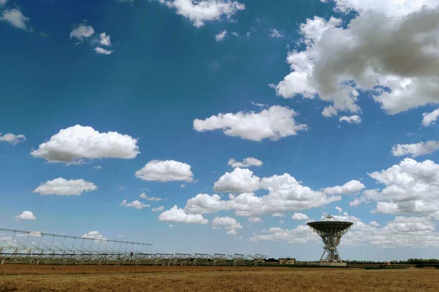 IF Imola Faenza Ciclying to Croce del Nord radiotelescope