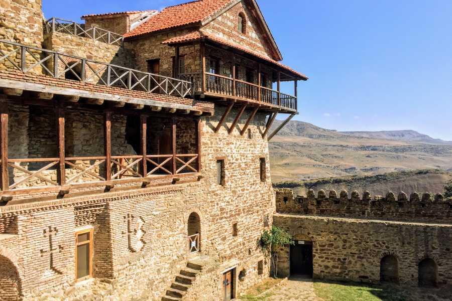 Friendly.ge Group tour to David Gareja Monastery and Rainbow Mountains