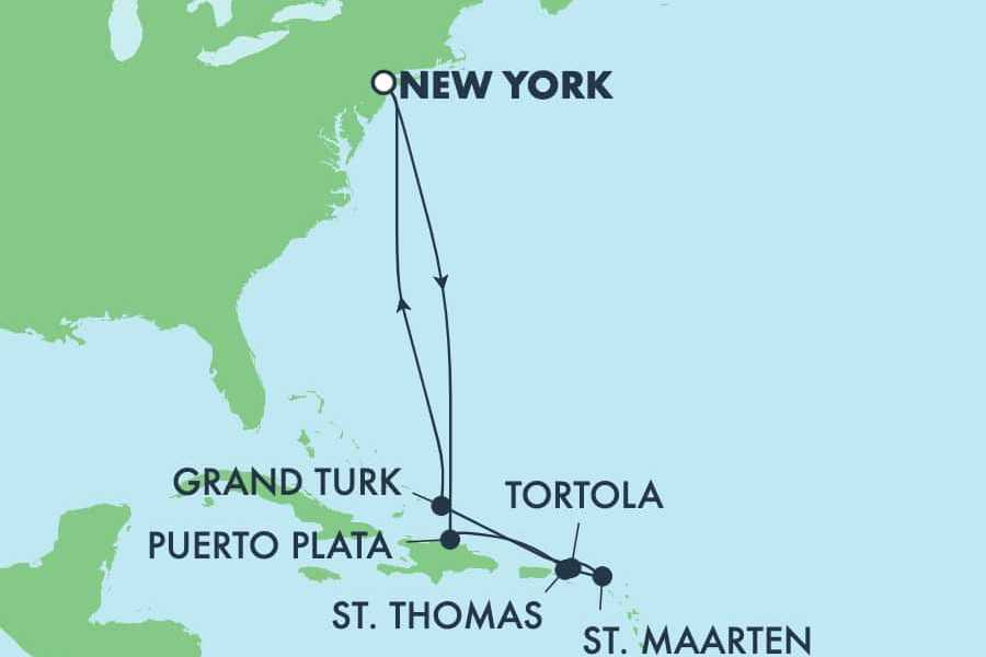 Dream Vacation Tours 13-DAY CARIBBEAN *NO FLY* NCL GEM CRUISE TOUR