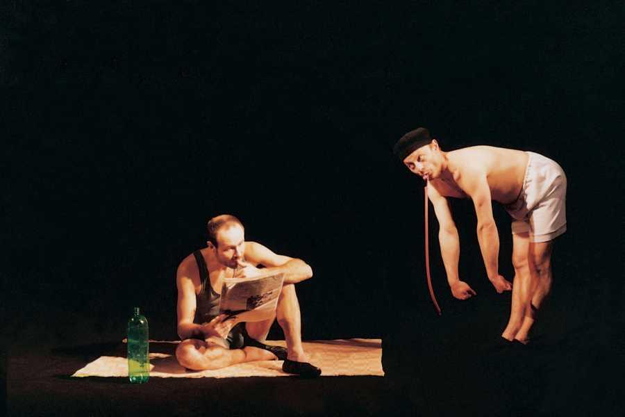 Turistico s.r.o. Teatro negro de Praga Image Lo mejor del Teatro Negro