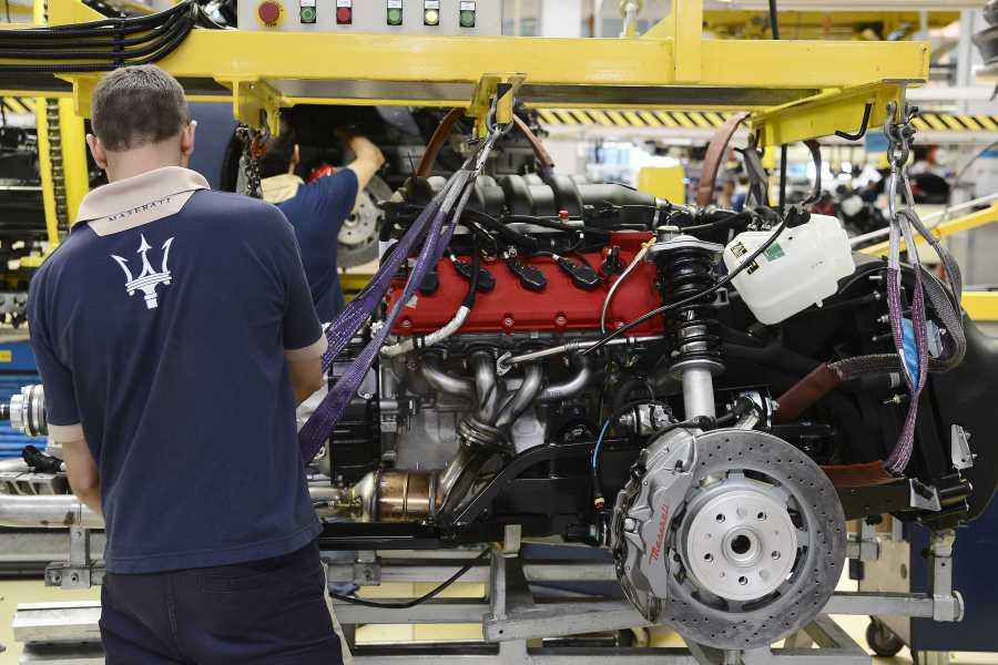 Modenatur Maserati Factory tour dedicated to Maserati customers