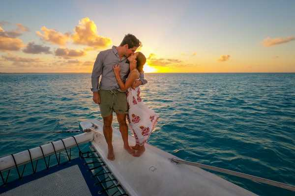2 Hour Private Sunset Catamaran Sailing Charter from Grace Bay, Providenciales