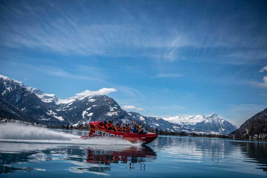 Outdoor Interlaken AG Winter Jetboat Ride