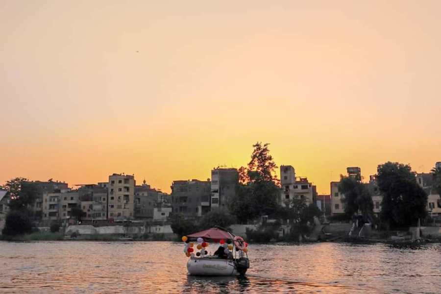 EMO TOURS EGYPT Private Short Felucca Donut Boat Trip on The Nile in Cairo