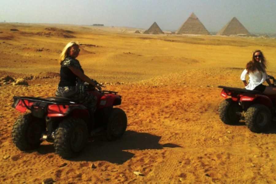 El Gouna Tours ATV Quad Bike Ride at Giza Pyramids