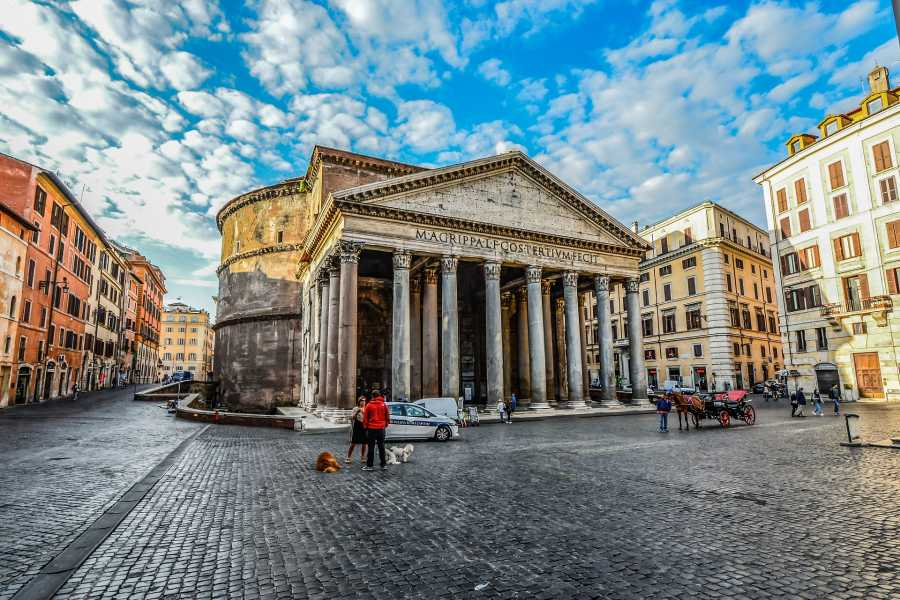 The Rogue Historians Rome Group: The Ultimate Tour
