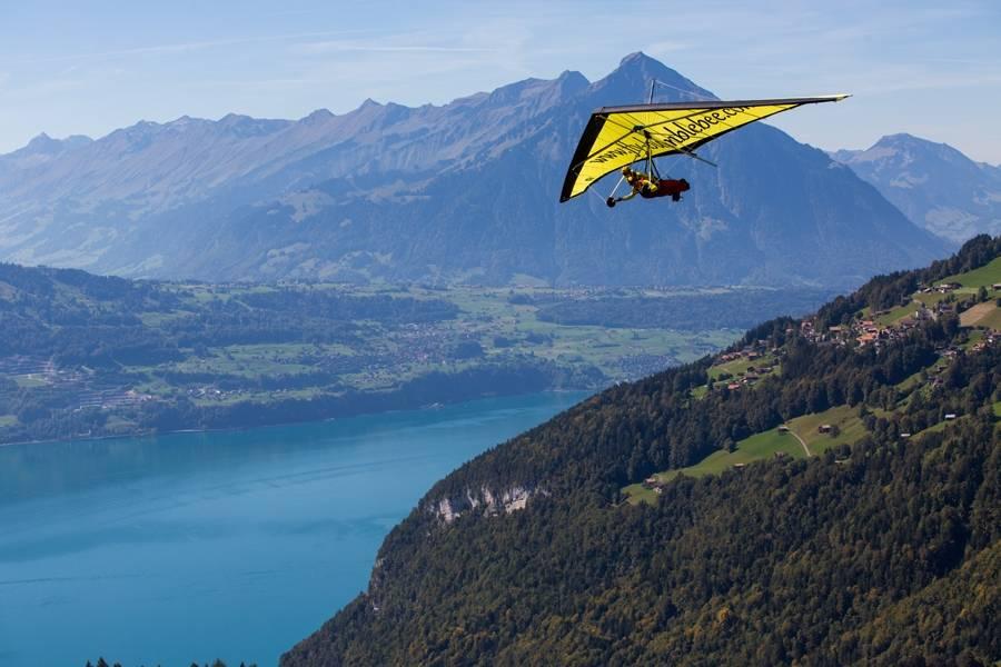 Hanggliding Tandemflights in Interlaken, Switzerland | Book Now