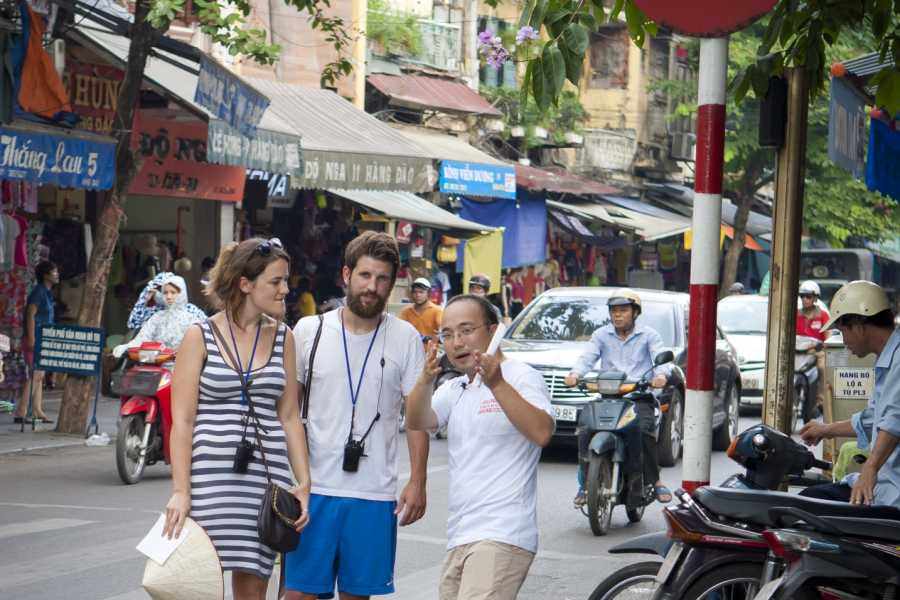 Friends Travel Vietnam Hanoi Walkie Talkie Tour
